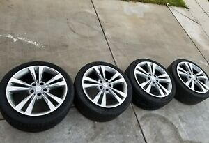 Oem Original 18 Inch Mercedes Benz E350 Wheels Rims And Tires Factory Stock