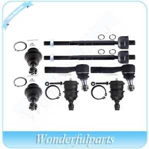 Suspension Front 8 Ball Joint Tie Rod End Kit For Mazda B4000 B3000 B2500 B2300