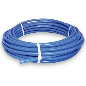 1 2in Pex Tubing 100ft Coil Water Pipe Line Hose Non Barrier Tube Plumbing Blue