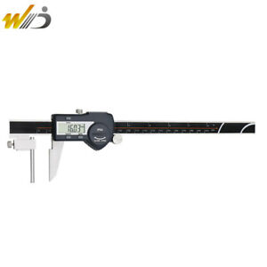 Digital Vernier Caliper 0 200 Mm Tube Thickness Caliper Paquimetro Digimatic