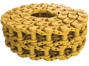 Two Cr4267 37 37 Link Track Chain Fits Liebherr Lr631 Dozer 631