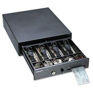 Mmf Compact Steel Cash Drawer W spring loaded Bill Weights Disc Tumbler Lock