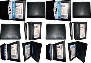 Lot Of 12 New Leather Business Card Credit Card Holder Fifty Card Case Id Bnwt