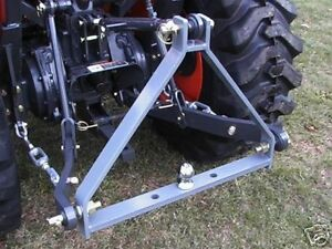 3 Point Cat 1 Tractor Rear Drawbar Trailer Hitch