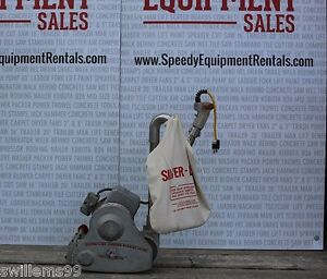 Essex silver 8 drum Floor Sander