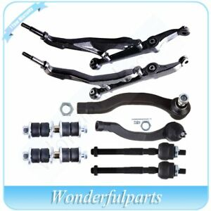 8pcs Suspension Kit Control Arm And Ball Joint Sway Bar End Link For Honda Civic