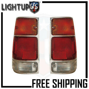 Fits 88 95 Isuzu Pickup Tail Light Lamp Pair Left And Right Set
