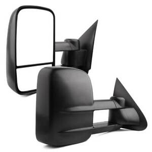 For 88 98 Chevy Gmc C k Series Truck Towing Mirrors Chrome Power Signal Backup