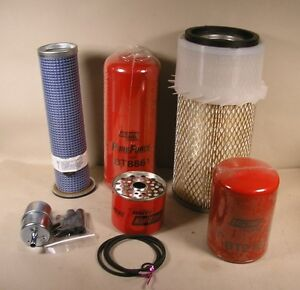 Bobcat Filter Kit 943 Skid Steer Oil Fuel Air 2 For Late S n 12001 And Above