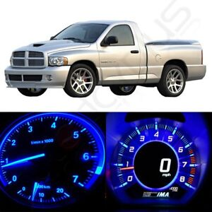 Instrument Gauge Dash Blue Light climate Led Kit For 2002 2006 Dodge Ram 1500
