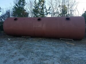 24 000 Gal Above Ground Bulk Fuel Tank Diesel gas water septic 3 Compartment