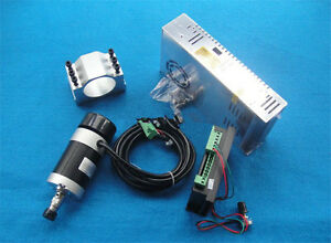 400w Er11 12000rpm Bldc Spindle Motor pwm Mach3 Driver switch Power Supply Kit