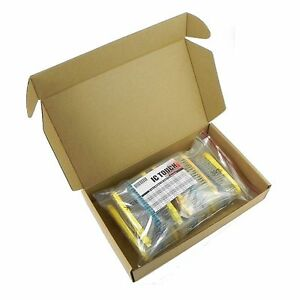 50value 2000pcs 1 2w Metal Film Resistor Assortment Kit Kitb0077