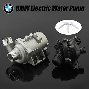 Electric Engine Water Pump With Thermostat For Bmw 328i 528i X3 X5