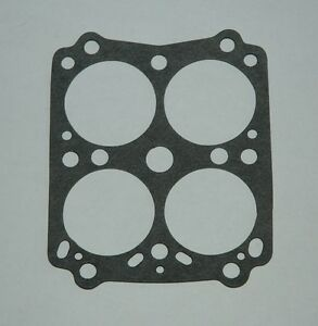 1955 65 Carter Wcfb Main Body To Base Gasket Chevy Cadillac Chrysler Large Bore