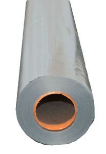 250 Sqft Radiant Barrier Attic Foil Reflective Insulation 4 X 62 5 Perforated