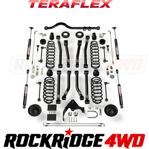Teraflex 07 18 Jeep Jk 4 Door 4 Lift Kit W 8 Flexarms Track Bar