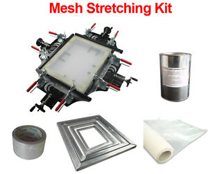 Screen Printing Screen Frame Stretching Kit Hand Stretcher Screen Mesh Tools