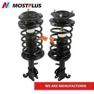 2pcs Front Complete Shock Struts W Coil Springs For 1993 2002 Toyota Corolla