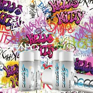 Hydrographics Kit Hydro Dipping Hydro Dip Water Transfer Kitty Graffiti Ll 121