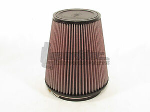 K n 6 Round Tapered Universal Air Intake Cone Filter Car truck suv Ru 3050 New