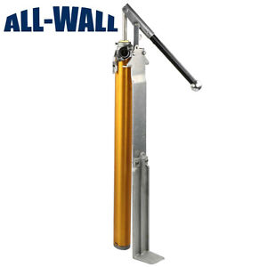 Tapetech Extra Tall long Drywall Compound Pump Fits 30 gal Mud Barrels 76xltt
