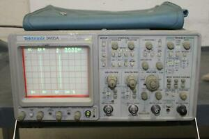 Tektronix 2465a 350 Mhz 4 channel Oscilloscope