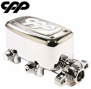 Cpp Chrome Mcpv 1 Master Cylinder Ford Chevy Street Rod 1 Bore