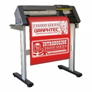 24 Graphtec Ce6000 60 High Performance Vinyl Cutting Plotter Ac 100 120v