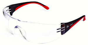 12 Pair 1700 2 5 Bifocal Reader Clear Safety Glasses