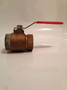 Capri 1 1 2 Brass Ball Valve