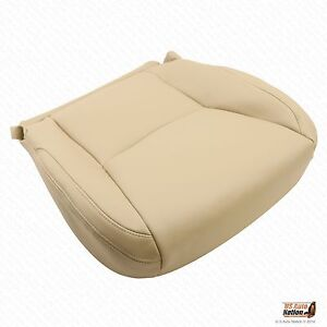 Front Driver Bottom leatherette Seat Cover Tan For 2003 2004 2005 Lexus Gx470