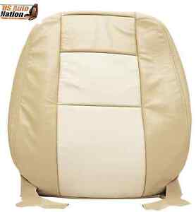 2006 07 2008 Ford Explorer Limited Driver Top Lean Back Leather Seat Cover Tan