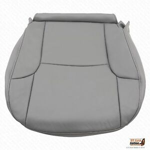 Driver Bottom Leatherette Seat Cover Gray For 2007 2008 Toyota 4runner Limited
