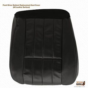 2005 Ford F 250 F 350 Harley Davidson Driver Bottom Leather Seat Cover Black