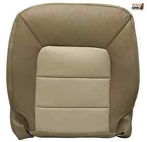 2004 Ford Expedition Eddie Bauer Driver Bottom Replacement Leather Seat Cover