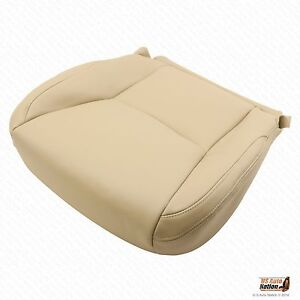 Front Passenger Bottom synthetic Leather Cover Tan Fits 2003 2004 Lexus Gx470