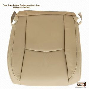 Driver Bottom Leather Seat Cover Tan Fits 2004 2009 Lexus Rx 330 Rx 350 Rx400