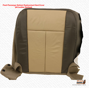 2007 2008 Ford Expedition Eddie Bauer Passenger Side Bottom Leather Seat Cover