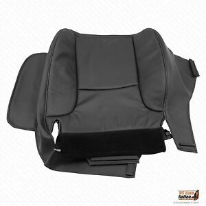 2002 2003 2004 2005 Dodge Ram 2500 Driver Side Bottom Vinyl Seat Cover Dark Gray