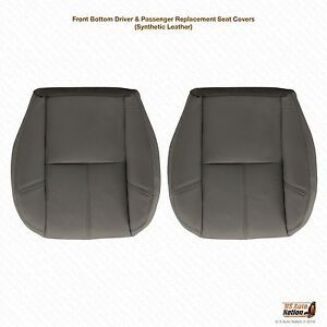 2007 2009 Chevy 1500 Hd Wt Work Truck Driver Passenger Bottom Vinyl Seat Covers