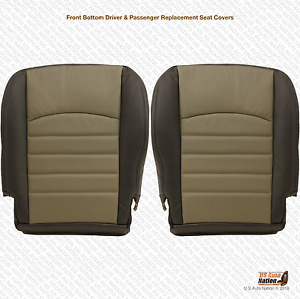 2010 Dodge Ram Driver Passenger Bottom Replacement Synthetic Leather Cover