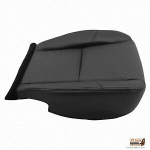 2011 Chevy Avalanche Ltz Driver Bottom Perforated Leather Seat Cover Color Black