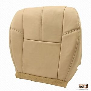 2010 2011 2012 Chevy Avalanche Ls Lt Ltz Driver Bottom Leather Seat Cover Tan