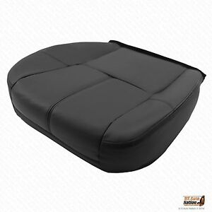 2013 2014 Chevy Tahoe suburban Driver Side Bottom Leather Seat Cover Black