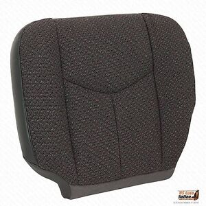2006 Chevy Silverado Truck 2500hd Driver Side Bottom Cloth Seat Cover Dk Gray