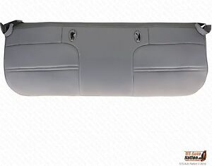 1999 Ford F250 Xl Work Truck Bottom Replacement Vinyl Bench Seat Cover Gray