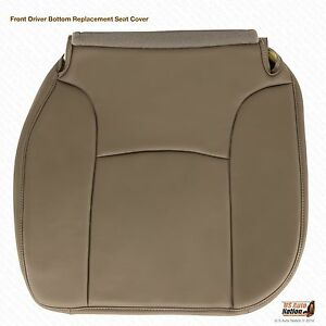 2004 Dodge Ram 2500 St Base Work Truck Driver Side Bottom Vinyl Seat Cover Tan