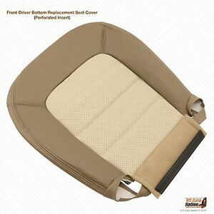 2004 Ford Explorer Eddie Bauer Driver Side Bottom Replacement Leather Seat Cover