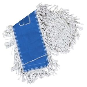 Tricol 38487 Launderable Replacement Dust Mop Cotton 5 5 X 24 inch